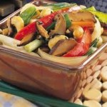 Asian Sauteed Veggies with Cashews