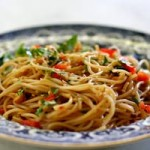 Asian Styled Vermicelli Dinner Salad