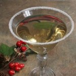 Holiday Chocolate Cake Martini