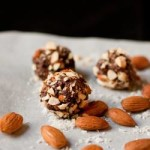 No Bake Coconut Date Truffles with Nuts