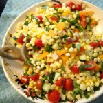 Raw Summer Corn Salad