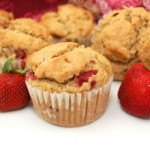 Gluten Free Strawberry Banana Muffins