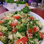 Raw Sprouted Quinoa Tabbouleh