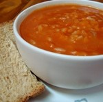 Simple Tomato Rice Soup