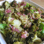 Garlic and Lemon Broccoli Saute