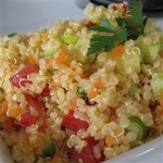 Fresh and Healthy Cold Quinoa Tabboulah