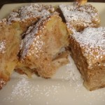 Easy Moist Cinnamon Apple Cake