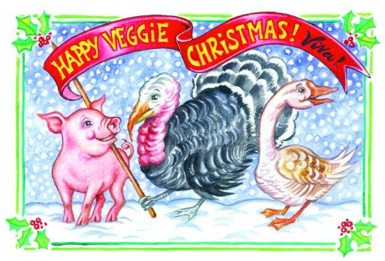 Happy Vegetarian Christmas