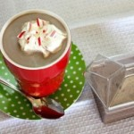 Coffee Shop Style Candy Cane Cocoa