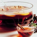 Warm Mulled Wine Punch