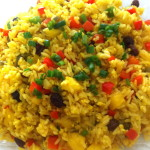 Pineapple and Green Chile Fried Rice 2