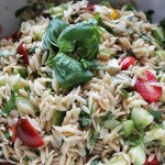 Chilled Greek Orzo Salad